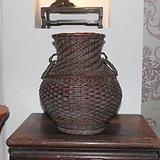 清代竹花瓶
