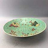 斗彩婴戏瓷碗C0590