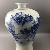 青花瓷瓶C0592