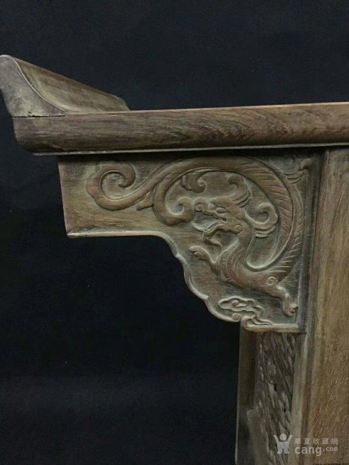 5厘米,非常大器,雕刻螭龙,工艺精湛,包浆浑厚,榫卯结构,结实稳固,全品