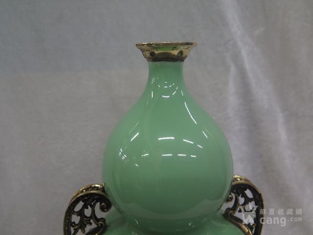 豆青釉葫芦瓶