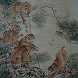 刘奎龄《封猴图》