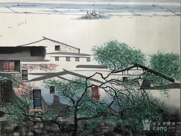 吴冠中山水风景图