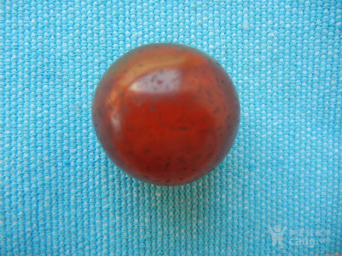 红玛瑙老珠子一颗
