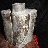 山东传世银.锡茶罐。重958克 约2斤。 罕见的藏品