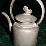 6150 3 清传世特型特精银锡酒具。