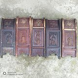 木雕椅子背5块
