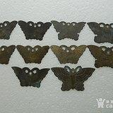 老铜件蝴蝶10个