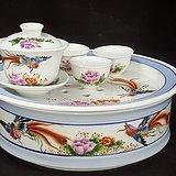 八九十年代手绘茶文化精品 库存美品