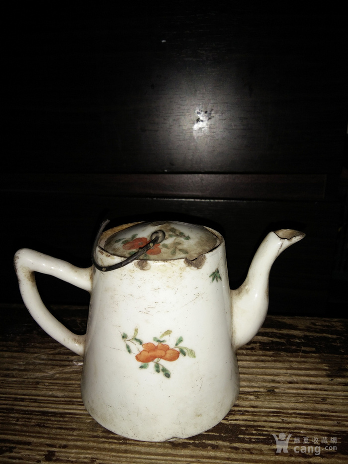 民国手绘茶壶