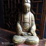 木雕菩萨像