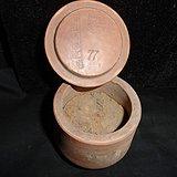 蛐蛐罐之最 山东澄泥有款 有监制的蛐蛐罐