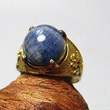 回流 斯里兰卡 蓝宝石 戒面戒指