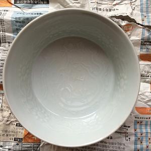 老区府窑印花龙纹茶盏666