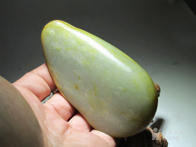 新疆 和田玉 洒金* 籽料 玉质及其细腻 手感油润
