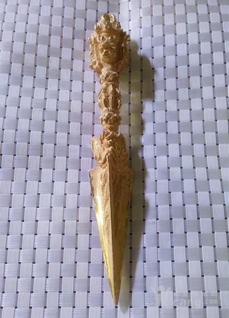 藏法器  鎏金