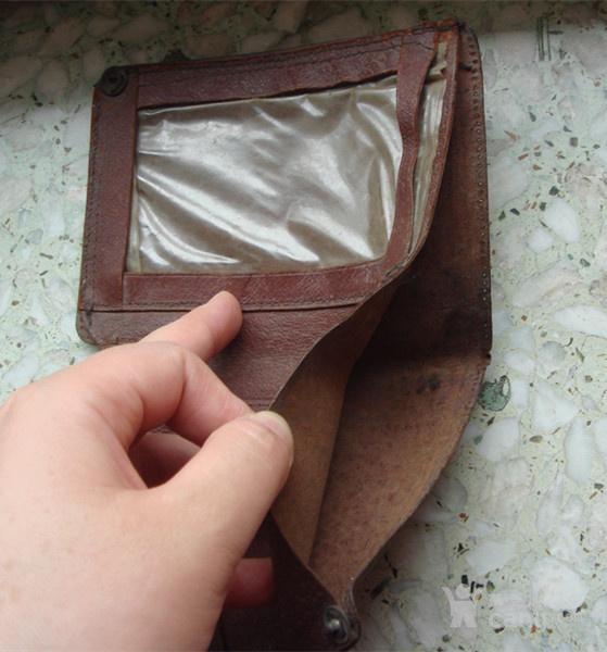 早期人民日记钱包钱夹子
