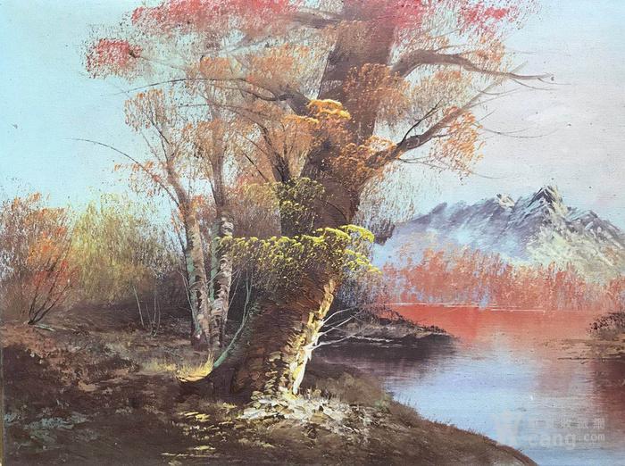 原框老油画图3