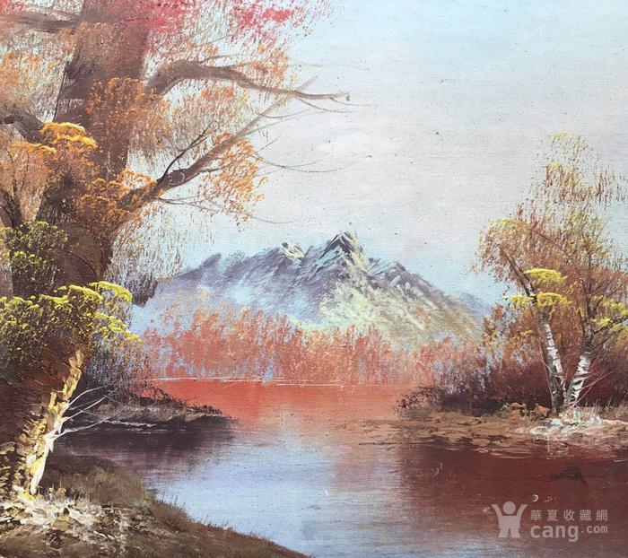 原框老油画图4