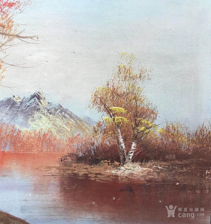 原框老油画图5
