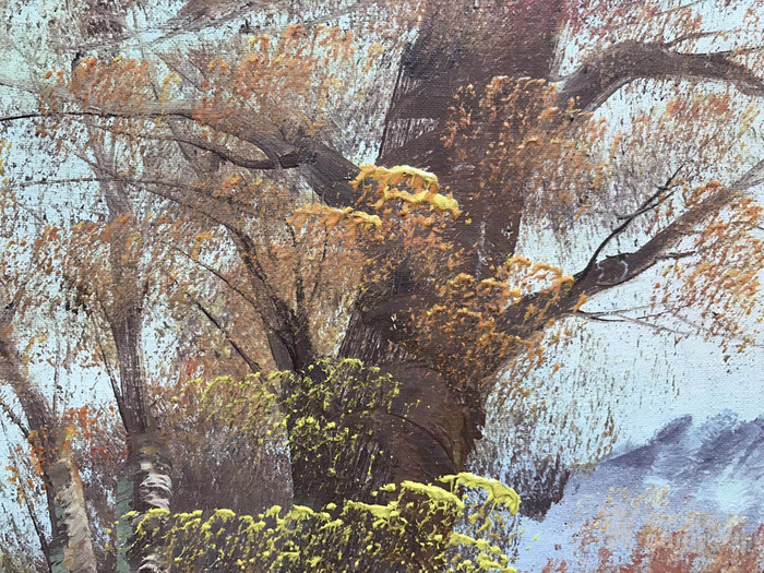 原框老油画图6