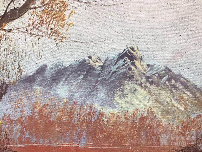 原框老油画图7