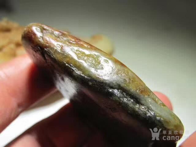 新疆 和田玉秋梨疲 籽料 玉质及其细腻图7