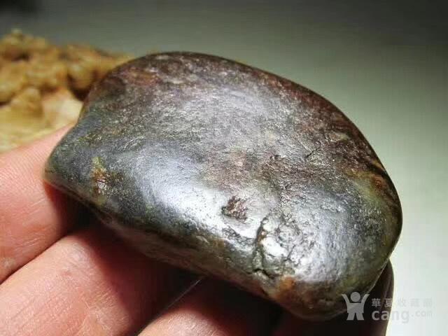 新疆 和田玉秋梨疲 籽料 玉质及其细腻图5