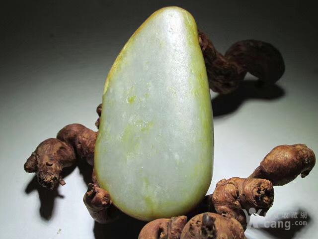 新疆 和田玉 洒金皮 籽料 玉质及其细腻图1