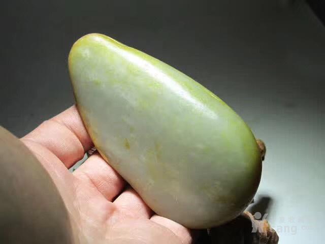 新疆 和田玉 洒金皮 籽料 玉质及其细腻图5