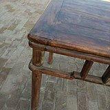 黄花梨书桌