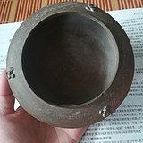 战国    印纹牛头耳硬陶罐