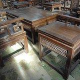 老家具传世檀木书房十一件套收藏装修会所