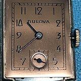 1947年玫瑰金宝路华14 k 镀金表