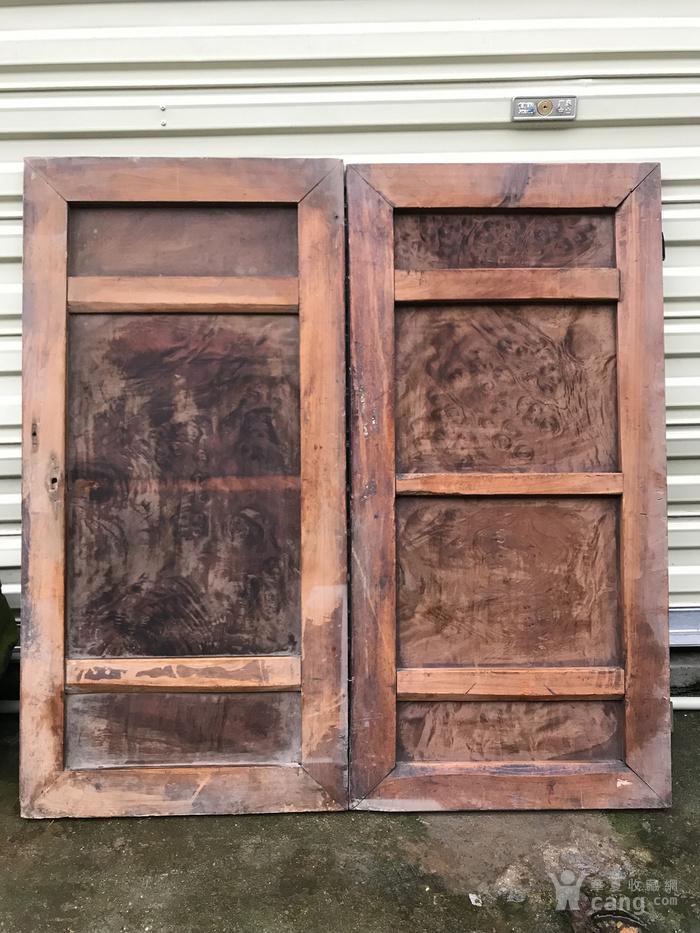 花纹漂亮的老瘿木板