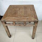 苏作老榉木大尺寸方凳禅凳 有底款
