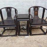 传世老家具紫檀圈椅王皇宫收藏装修别墅