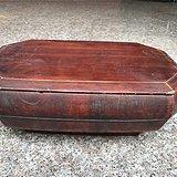 832 八角木盒小木器糖果盒老物件