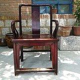 雕寿字椅单只