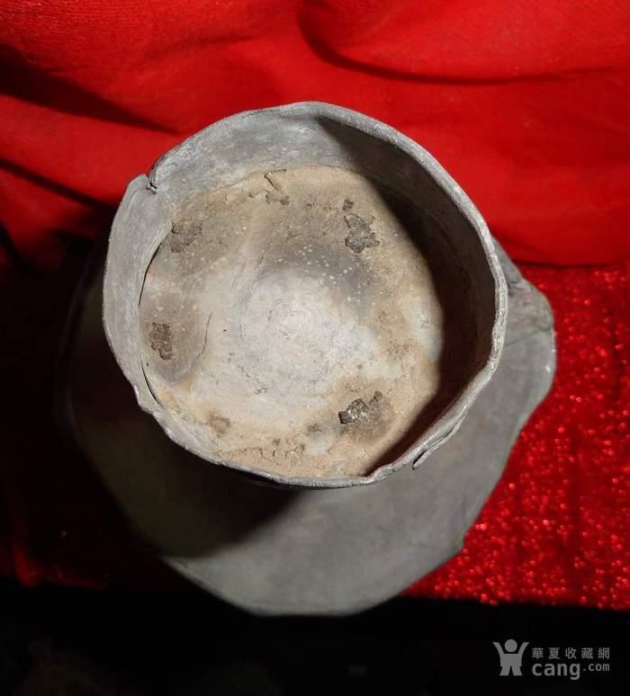 清未民初老锡  宫庭式灯具 已鉴定 .