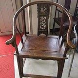黄花梨圈椅一套