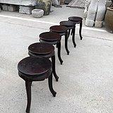 圆凳六个 完整一套 年代不详 样样精品 尺寸:高45cm