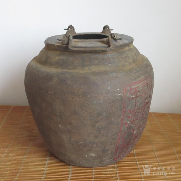 老锡器银元罐存钱罐老锡罐