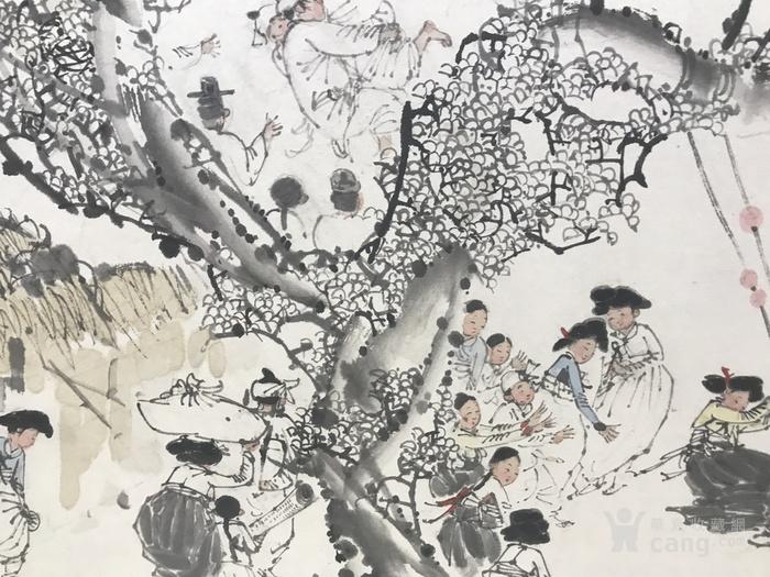 朝鲜画 马哲奎 中秋节 2016年