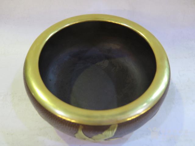 鎏金鹤纹炉