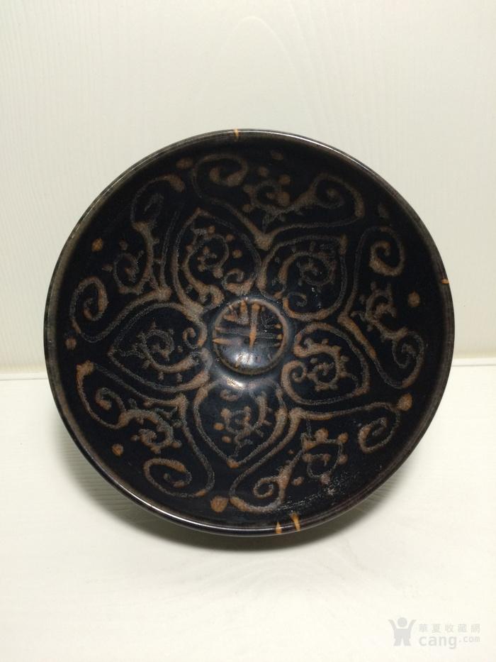 老吉州窑彩绘茶盏1888666