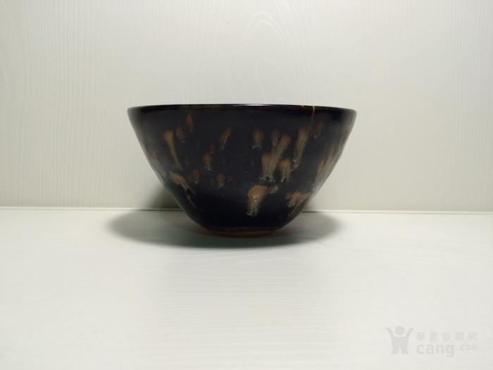 老吉州窑彩绘茶盏1888666图2