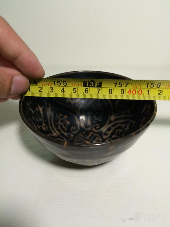 老吉州窑彩绘茶盏1888666图9
