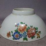 文革时期花卉碗