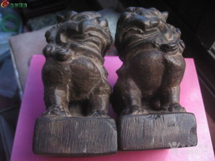 老石雕 明代小石狮子图片